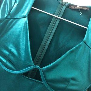 The Vintage Shop Emerald Green Dress